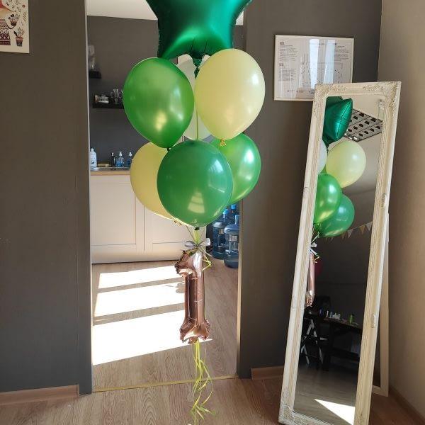 Balonu komplekts pirmajā vārda dienā