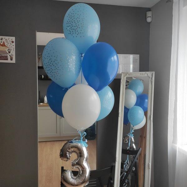 Balonu komplekts trīsgadniekam