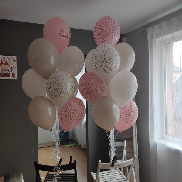 18 balonu kobplekts dāvana uz 18 gadu jubileju meitenei. Idejas dāvanai Jēkabpilī.