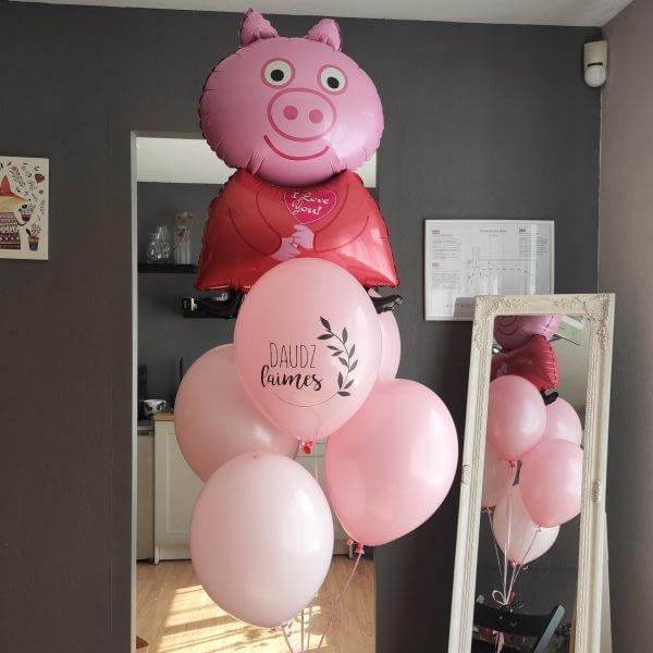 Peppa Pig balonu pušķis