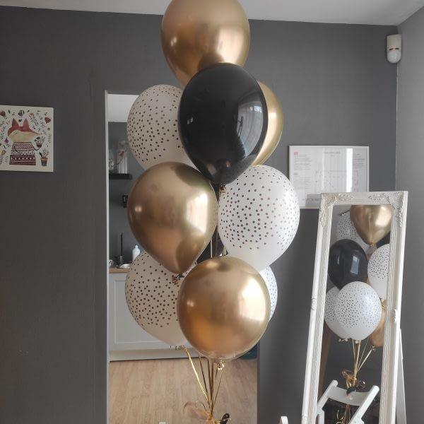 Gaumīgs balonu pušķis dzimšanas dienā